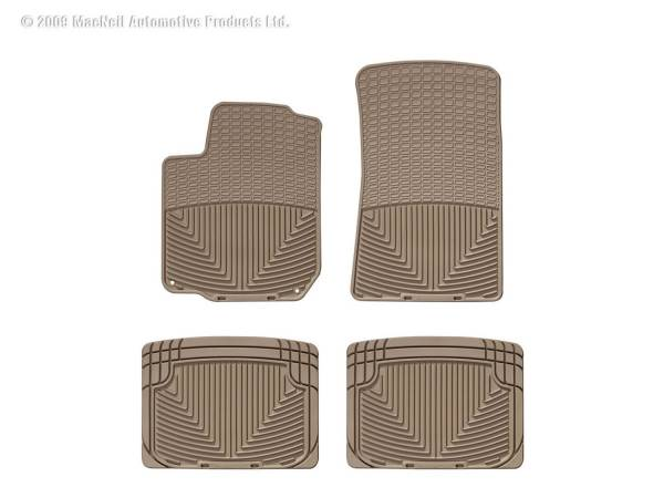 WeatherTech - WeatherTech W31TN-W20TN All Weather Floor Mats