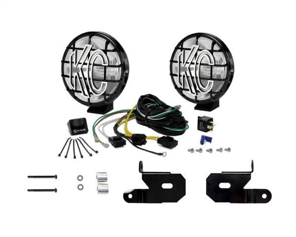 KC HiLites - KC HiLites 97114 KC Apollo Pro Series Spread Beam Light Kit