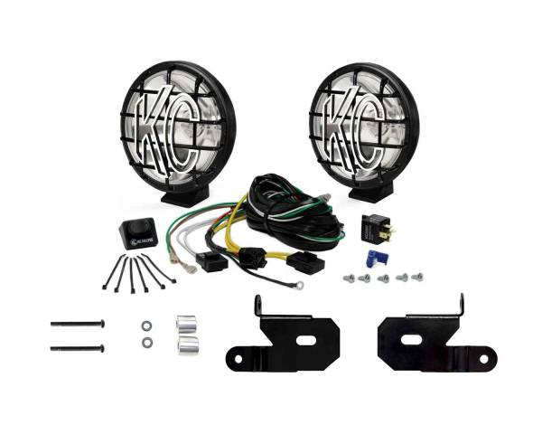 KC HiLites - KC HiLites 97113 KC Apollo Pro Series Spot Beam Light Kit