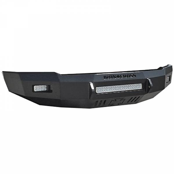 Iron Cross - Iron Cross 40-425-99 Low Profile Front Bumper for Ford F250/F350 1999-2004 - Gloss Black
