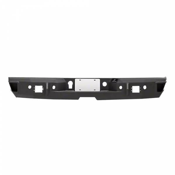 Hammerhead Bumpers - Hammerhead 600-56-0177 Rear Bumper with Sensor Holes for GMC Sierra 2500/3500 2007-2010