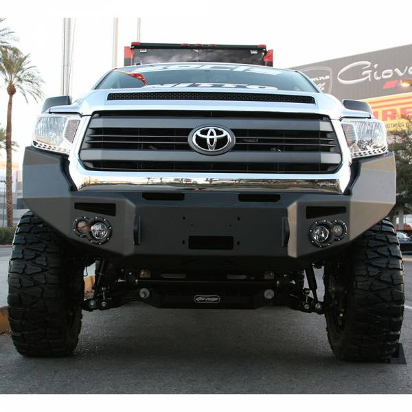Fab Fours - Fab Fours TT14-H2851-1 Winch Front Bumper for Toyota Tundra 2014-2019