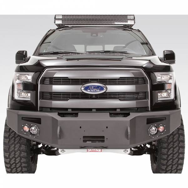 Fab Fours - Fab Fours FF15-H3251-1 Winch Front Bumper for Ford F150 2015-2017