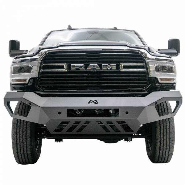 Fab Fours - Fab Fours DR19-V4451-1 Vengeance Front Bumper with Sensor Holes for Dodge Ram 2500/3500 2019-2020