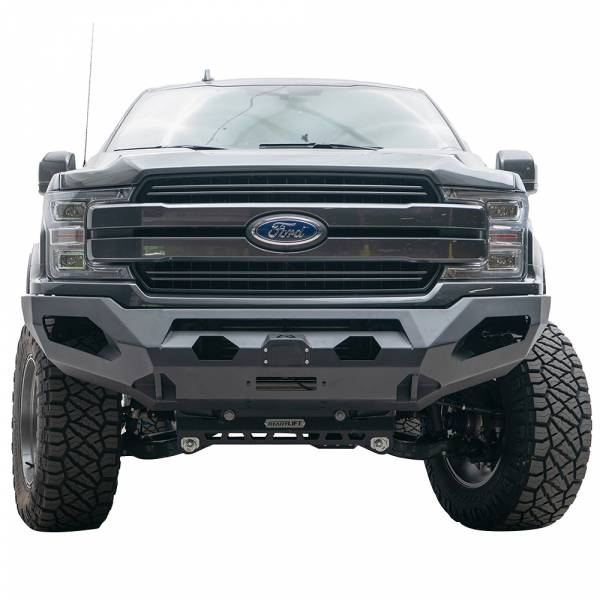 Fab Fours - Fab Fours FF18-X4551-1 Matrix Front Bumper for Ford F150 2018-2020