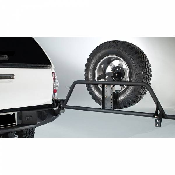 Fab Fours - Fab Fours TT-Y1351T-1 Premium Rear Bumper with Tire Carrier for Toyota Tacoma 2005-2015