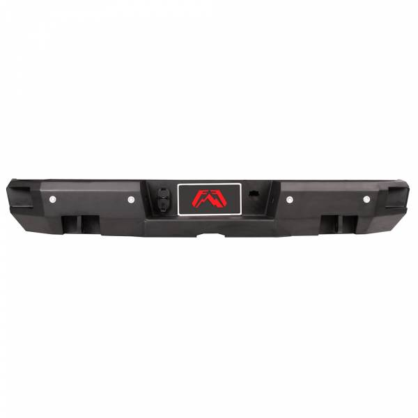 Fab Fours - Fab Fours CS15-W3551-1 Premium Rear Bumper with Sensor Holes for Chevy Suburban 2015-2019