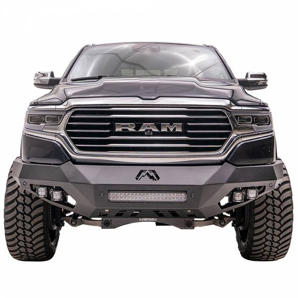 Fab Fours - Fab Fours DR19-D4251-1 Vengeance Front Bumper with Sensor Holes for Dodge Ram 1500 2019-2020