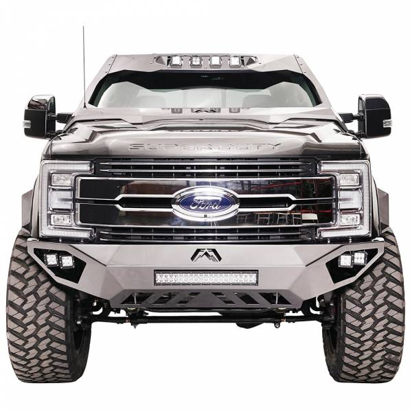 Fab Fours - Fab Fours FS17-V4161-1 Open Fender Front Bumper for Ford F250/F350 2017-2020