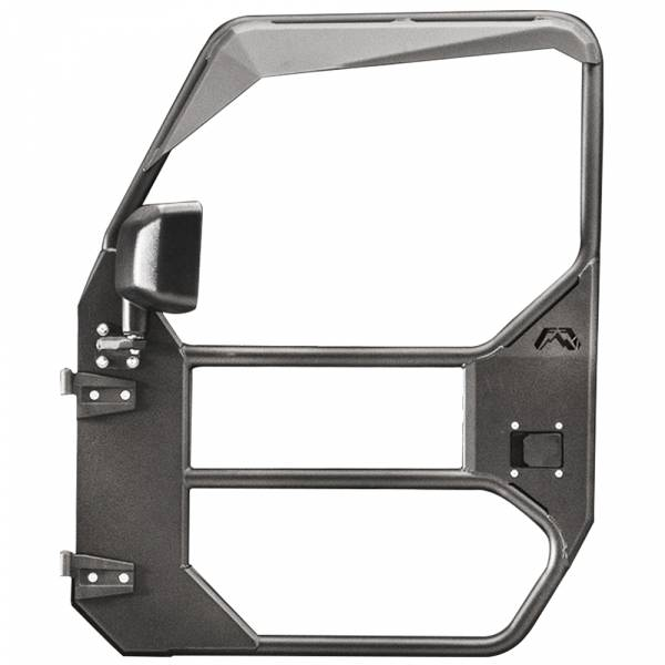 Fab Fours - Fab Fours JL1030-1 Front Full Tube Door for Jeep Wrangler JL 2018-2020