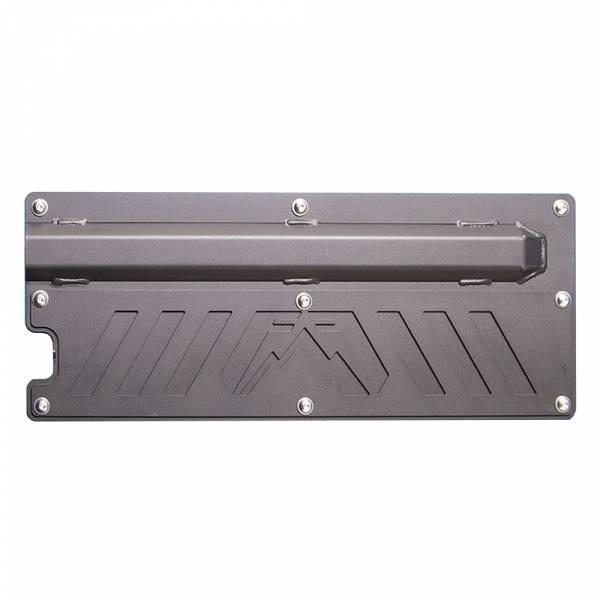 Fab Fours - Fab Fours JK2000-1 Rear Door Plate for Jeep Wrangler JK 2007-2018