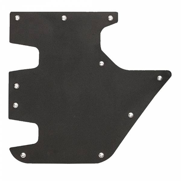 Fab Fours - Fab Fours JK3002-1 Rear Door Skin for Jeep Wrangler JK 2007-2018