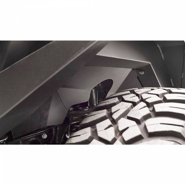Fab Fours - Fab Fours JL1002-1 Front Inner Fender for Jeep Wrangler JL/Gladiator 2018-2020