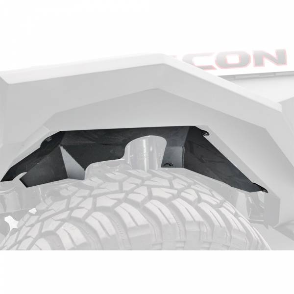 Fab Fours - Fab Fours JL2002-1 Front Inner Fender for Jeep Wrangler JL/Gladiator 2018-2020