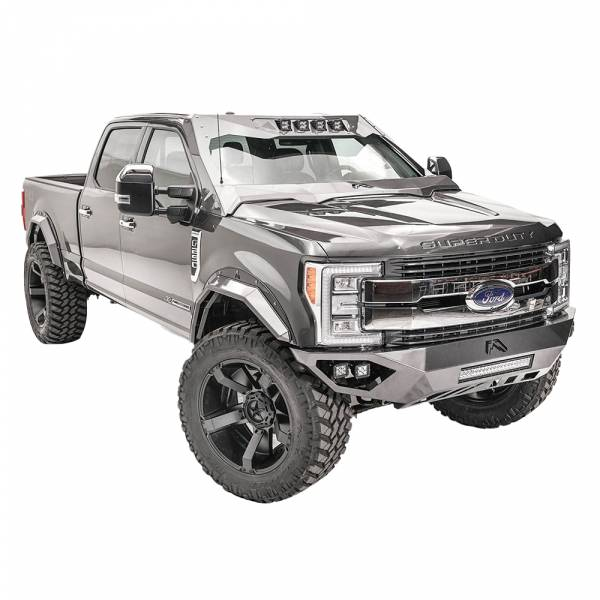 Fab Fours - Fab Fours VC4100-1 ViCowl for Ford F250/F350 2017-2019