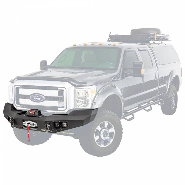 Warn - Warn 100917 Ascent Front Bumper for Ford F250/F350 2011-2016