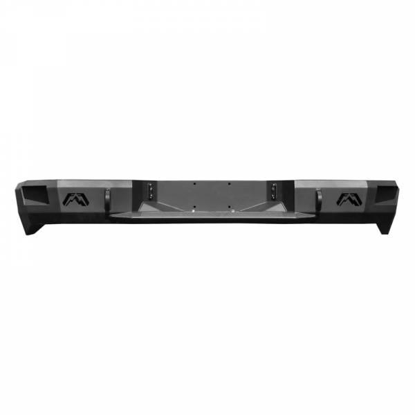 Fab Fours - Fab Fours CH11-W2150-1 Premium Rear Bumper for GMC Sierra 2500/3500 2011-2014