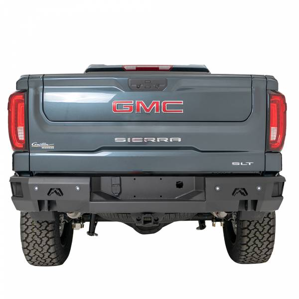 Fab Fours - Fab Fours CS07-W1850-1 Premium Rear Bumper for GMC Sierra 1500 2007-2013