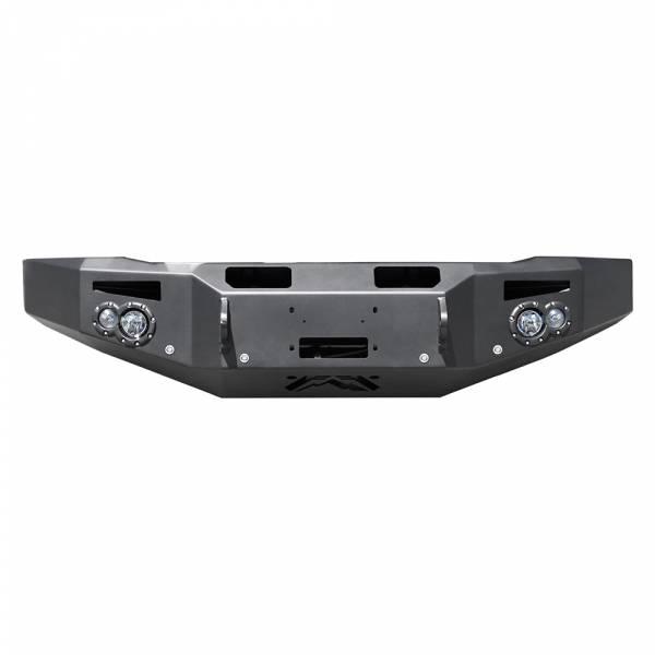 Fab Fours - Fab Fours CH14-C3051-1 Premium Winch Front Bumper for Chevy Silverado 2500/3500 2015-2019