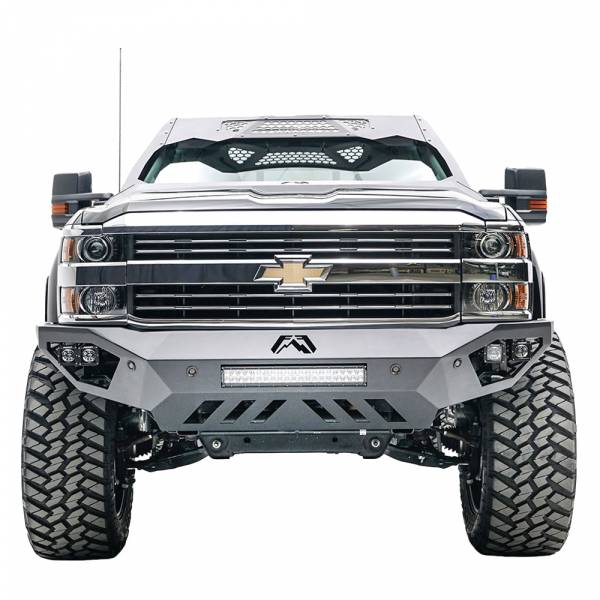 Fab Fours - Fab Fours CH15-V3051-1 Vengeance Front Bumper for Chevy Silverado 2500 HD/3500 HD 2015-2019