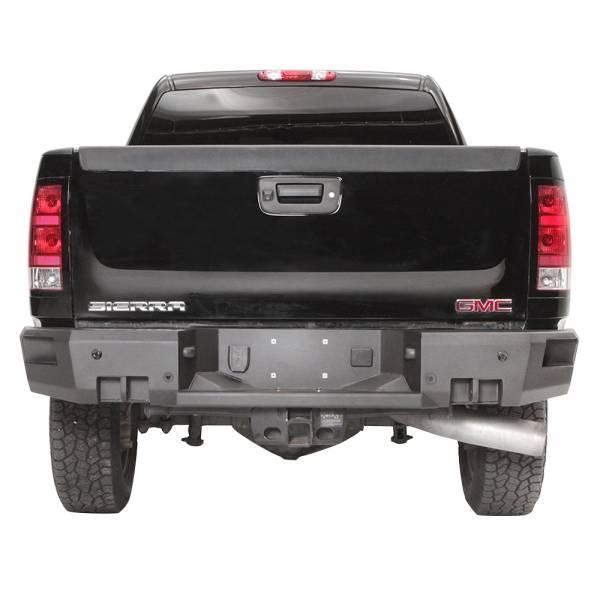 Fab Fours - Fab Fours CH11-W2151-1 Premium Rear Bumper for GMC Sierra 2500/3500 2011-2014