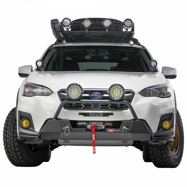Warn - Warn 106221 Semi Hidden Winch Mount Bumper Subaru Crosstek 2018-2020