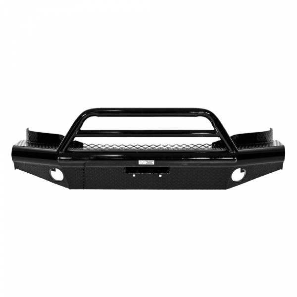 Tough Country - Tough Country AFR0017CLSMB Apache Front Bumper with Bull Bar for Chevy Suburban 1500 1999-2006