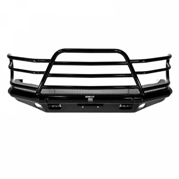 Tough Country - Tough Country DFR0050CLFSM Deluxe Front Bumper for Chevy Suburban 1500 1999-2002