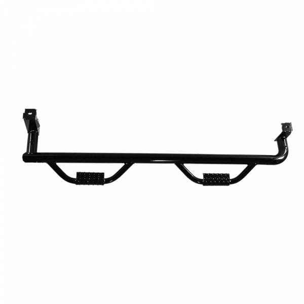Tough Country - Tough Country SB49903G6A2-GLOSS Deluxe 4-Door 6' Bed Wheel to Wheel Step Bar for GMC Sierra 1500/2500/3500 1999-2018