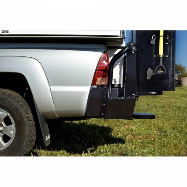 Aluminess - Aluminess 280020 Rear Bumper Camper Extension for Toyota Tacoma 2005-2015