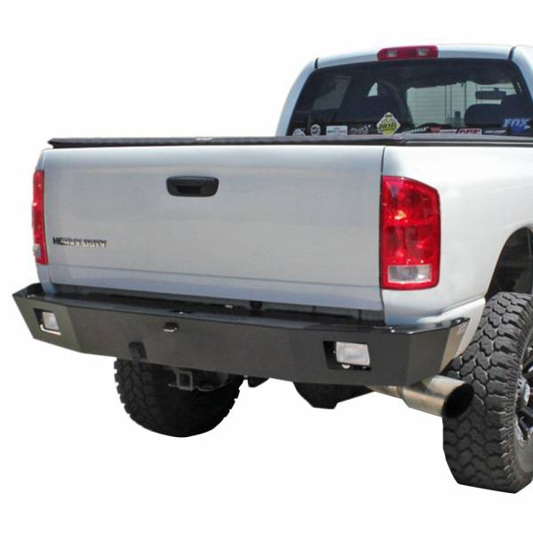 Aluminess - Aluminess 210045.1 Rear Bumper without Brush Guard and Swing Arm for Chevy Express Van 2003-2019