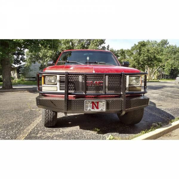 Thunderstruck - Thunderstruck OSC88-200 Elite Front Bumper for Chevy Silverado 1500/2500/2500HD/3500/Tahoe/Suburban 1500 1988-1998