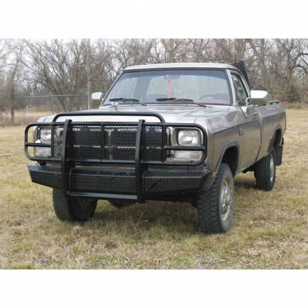 Thunderstruck - Thunderstruck OSD91-200 Elite Front Bumper for Dodge Ram 1500/2500/3500 1991-1993
