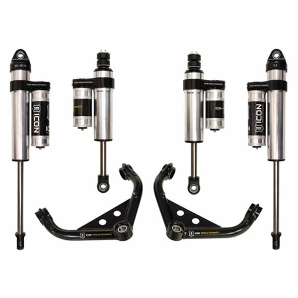 """Icon Vehicle Dynamics - Icon K77102 Stage 3 0""""-2.5"""" Front and Rear Lifted Suspension Lift Kit for Chevy Silverado and GMC Sierra 2500 HD/3500 HD 2001-2010"""