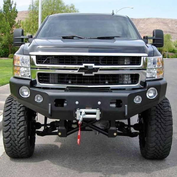 TrailReady - TrailReady 10651B Winch Front Bumper for Chevy Tahoe/Suburban 1500 2007-2010