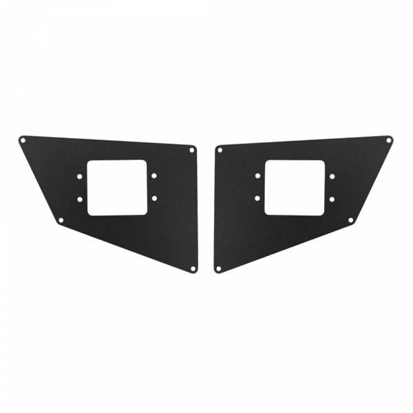 Go Rhino - Go Rhino 243711T BR10 Front Light Plates for Ford F250 2011-2015