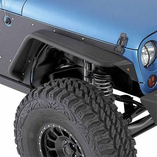 Smittybilt - Smittybilt 76838 XRC Flux Flares for Jeep Wrangler JK 2007-2018