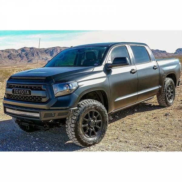 N-Fab - N-Fab T141MRDS M-RDS Pre-Runner Front Bumper for Toyota Tundra 2014-2020 - Gloss Black