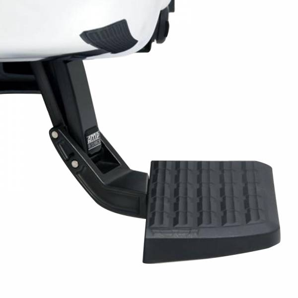 AMP Research - AMP Research 75303-01A BedStep Flip Down Bumper Step for Ford F250 1999-2016