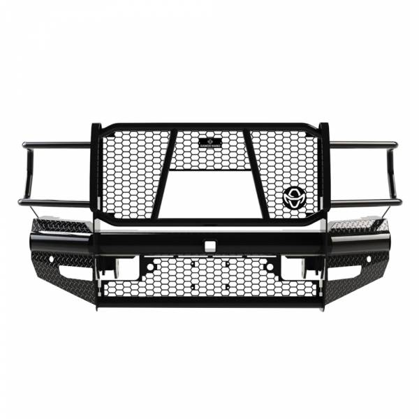 Ranch Hand - Ranch Hand FBD191BLR Legend Front Bumper with Sensor Holes for Dodge Ram 2500/3500 2019-2020 New Body Style