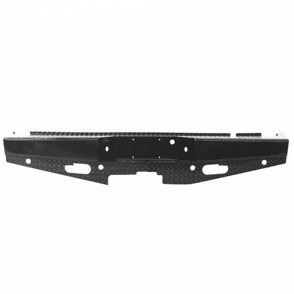Ranch Hand - Ranch Hand SBF06HBLSL Sport Rear Bumper with Lights and Sensor Holes for Ford F150 2006-2008