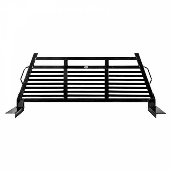 Frontier Gear - Frontier Gear 110-28-8006 Full Louvered 2HR Headache Rack for Chevy and GMC 1500/2500/3500/2500HD/1500HD 1999-2007