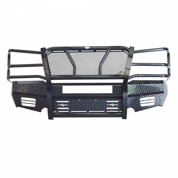 Frontier Gear - Frontier Gear 300-20-3006 Front Bumper with Light Bar Compatible for Chevy Silverado 2500HD/3500 2003-2006