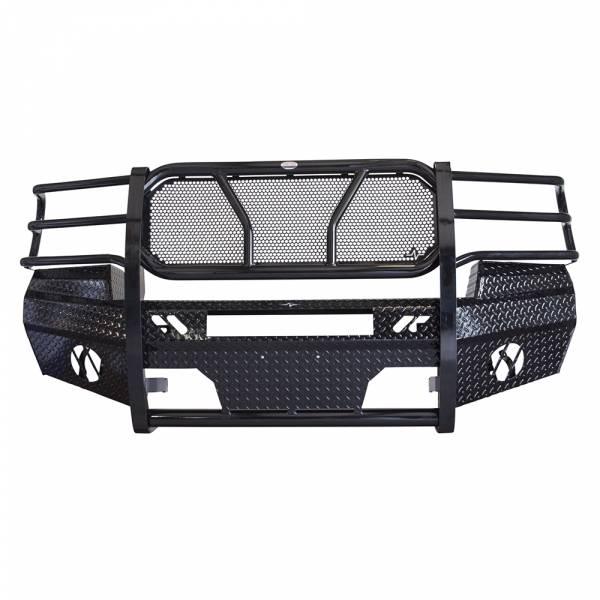 Frontier Gear - Frontier Gear 300-31-1006 Front Bumper with Light Bar Compatible for GMC Sierra 2500 HD/3500 HD 2011-2014