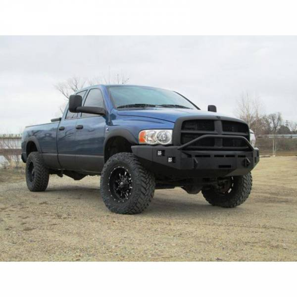 Fusion Bumpers - Fusion 0305RAMFB Front Bumper for Dodge Ram 2500/3500 2003-2005