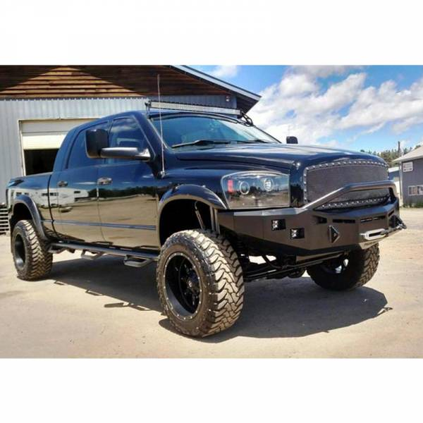 Fusion Bumpers - Fusion 0609RAMFB Front Bumper for Dodge Ram 2500/3500 2006-2009