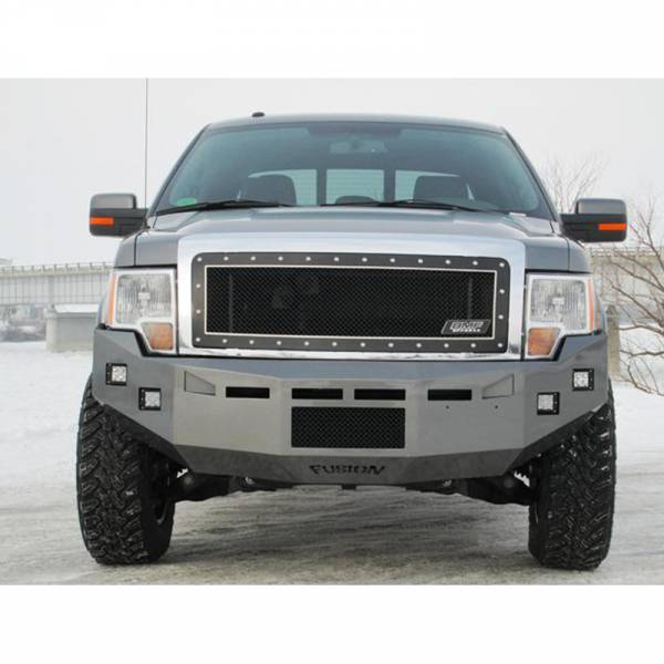 Fusion Bumpers - Fusion 0914F150FBEB Front Bumper for Ford F150 EcoBoost 2009-2014