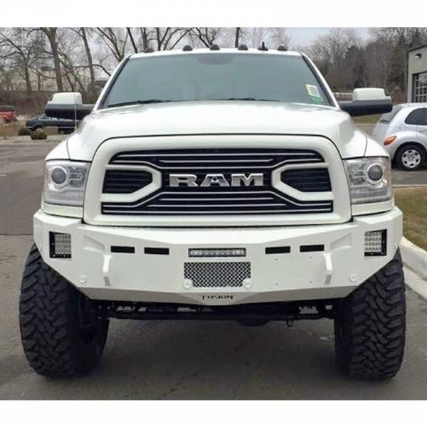 Fusion Bumpers - Fusion 1012RAMFB Front Bumper for Dodge Ram 2500/3500 2010-2012