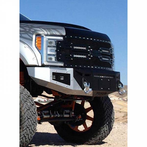 Fusion Bumpers - Fusion 1719SDFB Front Bumper for Ford F250/F350 2017-2021