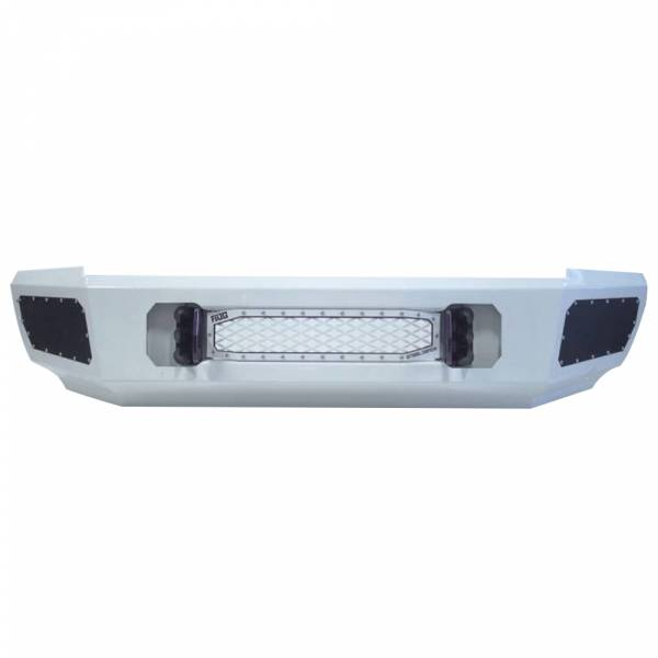 Flog Industries - Flog Industries FISD-C2535-0811F-S Front Bumper with Sensor Holes for Chevy Silverado 2500HD/3500 2008-2011
